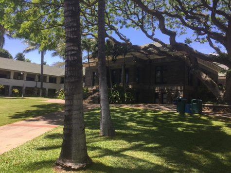 Cooke Hall on Punahou Campus