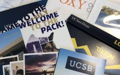 College recruiting materials
