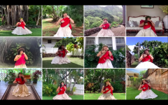 Screenshot from the 2020 Holokū pageant