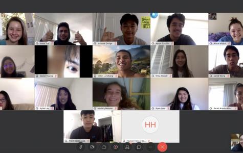 Screenshot of a  typical Webex classroom