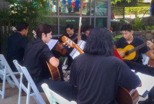 Punahou's Guitar Program Changes Its Tune