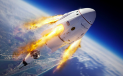 The SpaceX Dragon. Photo Courtesy of BBC.