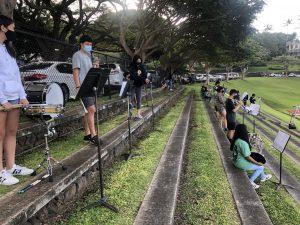 Photo Courtesy of Raina Fujitani, Production Coordinator, communications.